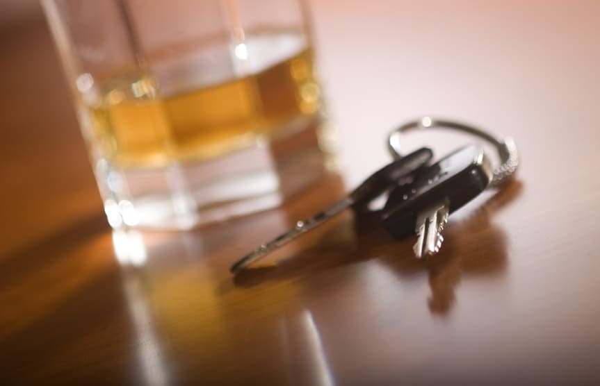 How Many Points Can You Get on Your license for Drink Driving?